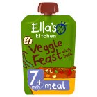 Ella's Kitchen Organic hugely hearty four bean feast with big flavour - stage 2 baby food - 130g