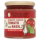 Peter Rabbit organic tomato and basil sauce - 300g