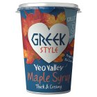 Yeo Valley Greek Style Maple Syrup - 450g