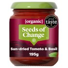 Seeds of Change organic sundried tomato & basil stir through sauce - 195g