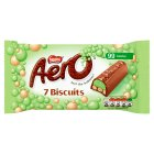 Aero Biscuit Mint Chocolate multipack - 7x17.9g Brand Price Match - Checked Tesco.com 30/07/2014