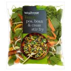 Waitrose Pea, Bean & Cress Stir Fry - 265g