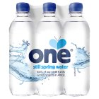 One Water still spring water - 6x500ml