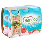Benecol raspberry yogurt drink - 6x67.5g Brand Price Match - Checked Tesco.com 29/04/2015