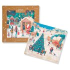 Waitrose Charity Glitter Village Cards - 10s