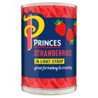 Princes strawberries in syrup - drained 150g Brand Price Match - Checked Tesco.com 20/08/2014