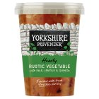 Yorkshire Provender Vegetable & ham soup with lentils - 600g