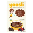 Yoosli chocolate & berry clusters - 500g