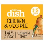 Little Dish 1 yr+ Chicken and Butternut Squash Pie - 200g