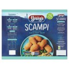 Young's formed scampi - 220g Brand Price Match - Checked Tesco.com 04/12/2013