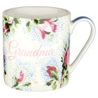 Waitrose Fine china grandma mug - each