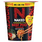 Naked Noodle Vietnamese Beef Pho - 78g