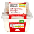 essential Waitrose cottage cheese snack pot sweet chilli - 200g