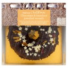 Waitrose Chocolate & hazelnut jewelled wreath - 785g
