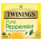 Twinings pure peppermint 80 tea bags - 160g