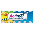 Actimel multifruit - 12x100g Brand Price Match - Checked Tesco.com 15/10/2014