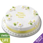 Yellow Daisy Cake - each