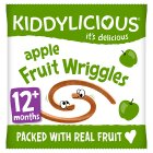 Kiddylicis apple fruit wriggles apple - 12g Brand Price Match - Checked Tesco.com 01/07/2015