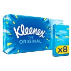 Kleenex Original Tissues, pocket pack - 8s