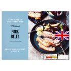 Waitrose slow cooked pork belly - 450g