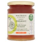 Waitrose Duchy Organic thick cut Seville orange marmalade - 340g