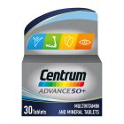 Centrum advance 50+ tablets - 30s Brand Price Match - Checked Tesco.com 30/07/2014