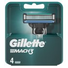 Gillette Mach 3 Manual Razor Blades 4 count - 4s