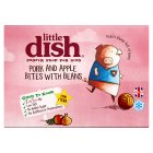 Little Dish 1 yr+ Pork & Apple Bites with Beans - 200g Brand Price Match - Checked Tesco.com 20/05/2015