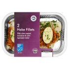 2 Hake Fillets Tomatoes & Olive Tapenade Butter MSC - 290g