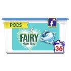 Fairy Non-Bio Washing Capsules 38 Washes - 1109.6g Brand Price Match - Checked Tesco.com 07/10/2015