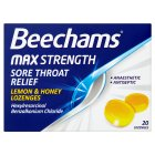 Beechams Throat Lozenge Lemon&Honey - 20s