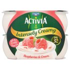Activia intensely creamy raspberry yogurt