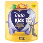 Tilda Kids sunshine vegetable rice - 125g
