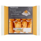 Waitrose 8 mini Yorkshire puddings - 124g