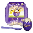 Cadbury vanilla egg 'n' spoon - 136g