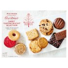 Waitrose sweet Christmas biscuit selection - 500g