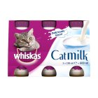 Whiskas cat milk - 3x200ml