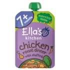 Ella's Kitchen Organic cheery chicken roast dinner - stage 2 baby food - 130g Brand Price Match - Checked Tesco.com 30/07/2014