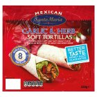 Santa Maria Mexican 8garlic tortillas - 320g