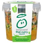 Innocent Thai coconut curry vegetable pot