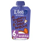 Ella's Kitchen Organic blueberry & pear baby brekkie - from stage 1 baby food - 100g Brand Price Match - Checked Tesco.com 24/11/2014