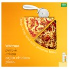 Waitrose deep & crispy Cajun chicken pizza - 500g