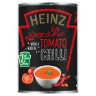 Heinz cream of tomato soup with a kick of chilli - 400g Brand Price Match - Checked Tesco.com 15/10/2014