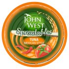 John West spreadables tuna Mexican style - 80g