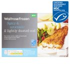Waitrose Spicy & Aromatic L/Dusted Cod - 230g