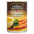 Crosse & Blackwell Best of British carrot & coriander soup - 400g