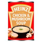 Heinz classic cream chicken & mushroom soup - 400g Brand Price Match - Checked Tesco.com 04/12/2013