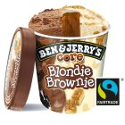 Ben & Jerry's core blondie brownie