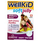Wellkid soft jelly pastilles wildberry - 30s
