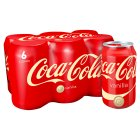 Coca-Cola vanilla multipack cans - 6x330ml